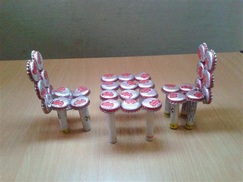recycle sofa for cash make miniature chairs from waste bottle caps