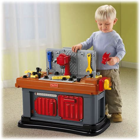 fisher price tool bench fun to imagine grow with me workshop