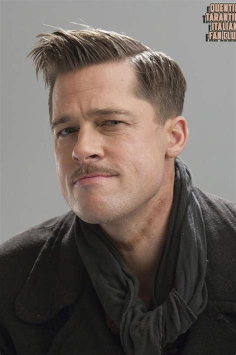 brad pitt inglorious bastard haircut in quot inglourious basterds quot brad pitt s character has rope