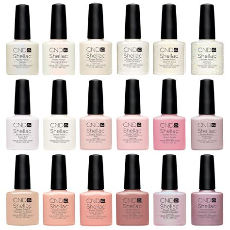 best shellac colours cnd shellac uv nail all new manicure colours