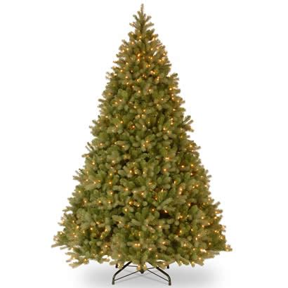 10 ft feel real douglas fir christmas tree with 1000