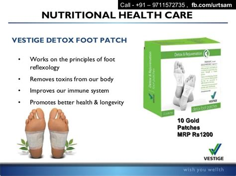 Vestige Detox Foot Patches by Vestige Marketing Pvt Ltd Business Plan