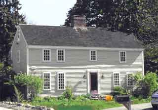Saltbox Colonial andover s architectural styles andover historic preservation