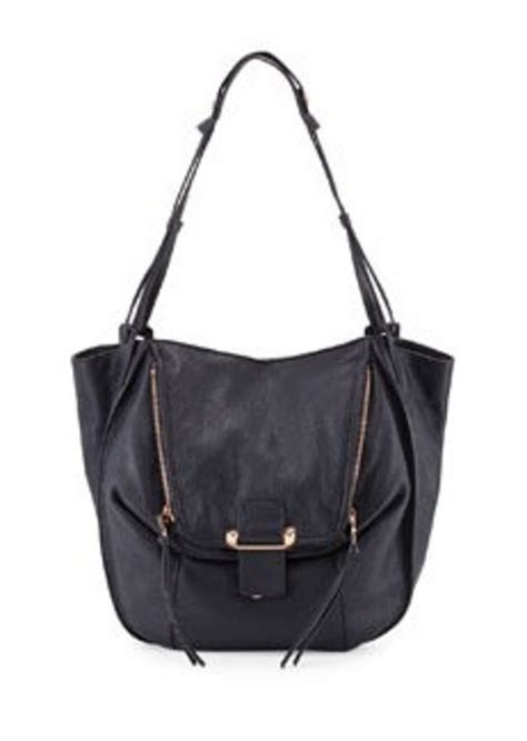 Kooba Tote Bag by Kooba Kooba Zoey Slouchy Pebbled Leather Tote Bag
