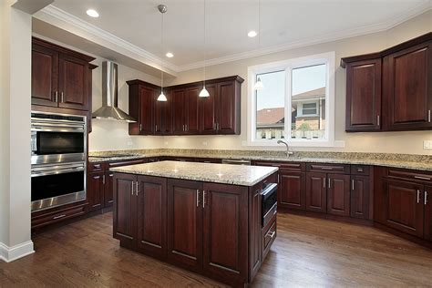 cherry cabinets with wood floors dark cherry cabinets with light wood floors savae org