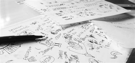 the sketchbook logo zedduo our logo design process