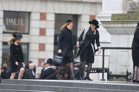 andr 233 reina el mundo funeral con honores militares para margaret thatcher en londres