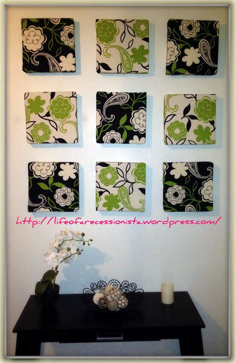 easy diy wall art    wall decor art