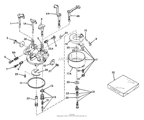 snowblower carburetor diagram tecumseh ca 631113 parts diagram for carburetor
