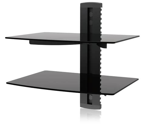Tv Wall Bracket And Shelf by Tv Wall Mount With 2 Shelves Pennsgrovehistory