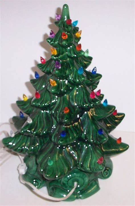 vintage ceramic lighted tree vintage green ceramic lighted tree 28 images vintage