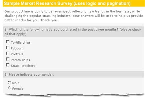 marketing survey template questionnaire design sle new calendar template site