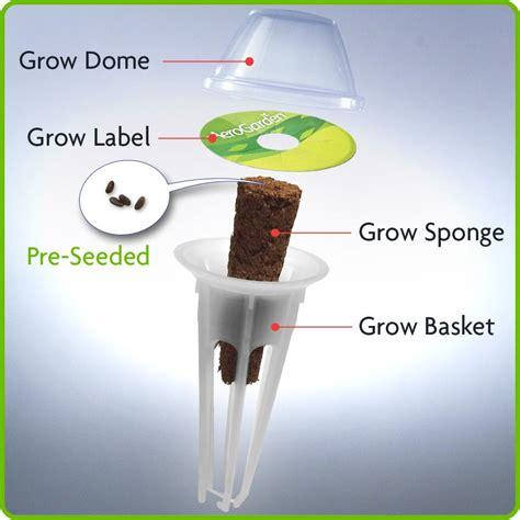 amazon com miracle gro aerogarden salsa garden seed pod