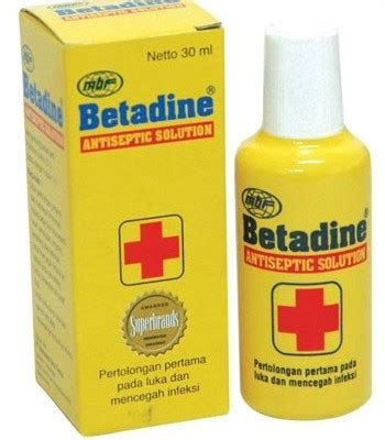 Betadine Alat Botol jual betadine solution 30 ml prosehat