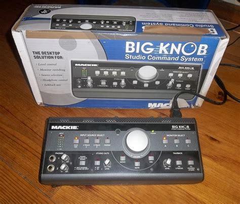 Makie Big Knob by Mackie Big Knob Image 1786517 Audiofanzine