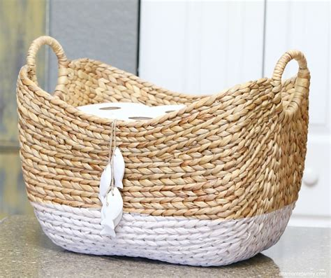 Paper Baskets - diy toilet paper storage basket altamonte family