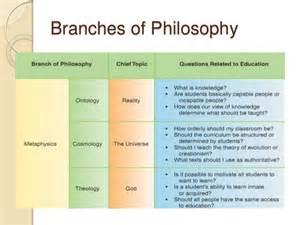 major philosophies in education