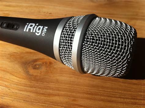 review irig mic microfoon van ik multimedia