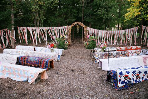 Superb Small Wedding Ceremony Venues #6: 004-boho-wedding-aisle-ceremony-details-SBB.jpg