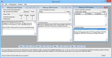 configure xp mercury mail download mercury 32 mail transport system 4 80 149