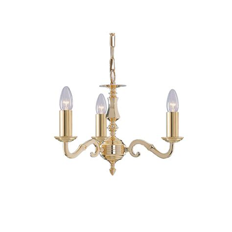 searchlight 2173 3ng seville 3 light polished brass