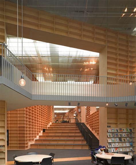 art design university japan musashino art university library by sou fujimoto spoon