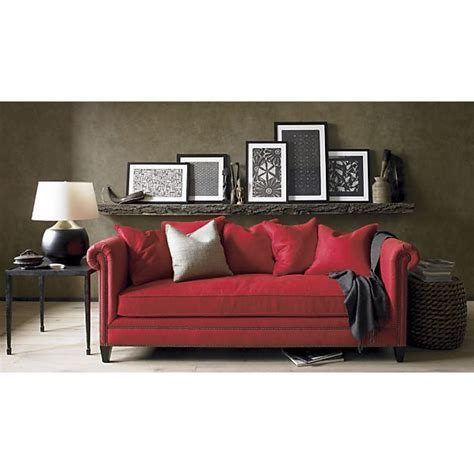 red sofa what colour walls wall color with red couch i think i really like the dark