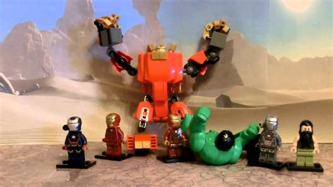 Lego Snapper Ironman Decool 0166 lego iron minifigures custom hulkbuster