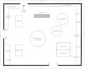 gift shop floor plan boutique free flow store layout floor plans pinterest