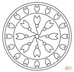 mandala coloring book purpose mandala with abstract pattern coloring page free