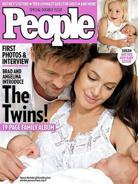 Brangelina And Baby Makes Six by S Pictures