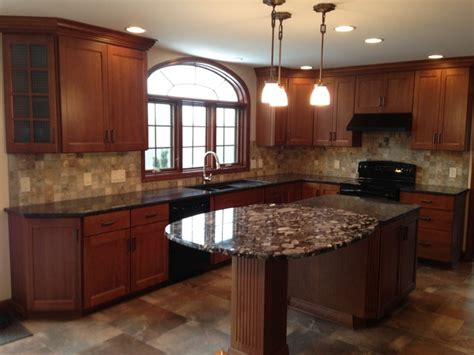 kitchen remodel cabinets macedon kitchen remodel traditional new york by