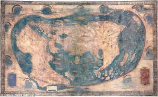 map columbus christopher columbus martellus map reveals more secrets