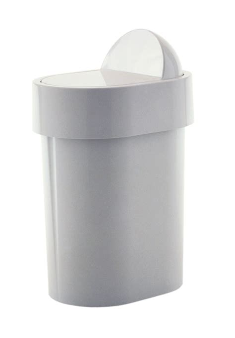 White Plastic Bathroom Bin gedy 4 8l compact cheap bathroom swing bin white plastic