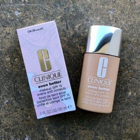 Clinique Even Better Makeup Spf 15 clinique even better makeup spf 15 erfahrungsberichte
