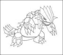 free pokemon groudon coloring pages
