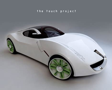 persho cars touch me michael i drive just for you yanko design