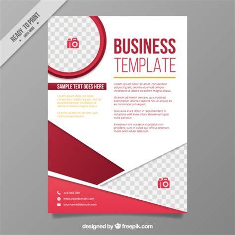 Flyer Design Freepik   abstract shapes corporative flyer template vector free