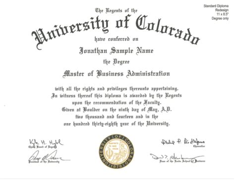 Uf Accounting Mba Program by Aps 8003 Attachment A Of Colorado