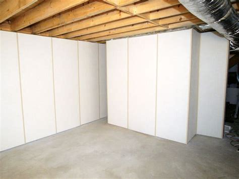 insulated basement wall panels installed in wv basement