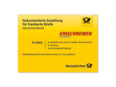 Einschreiben Briefformat einschreiben porto b 252 rozubeh 246 r
