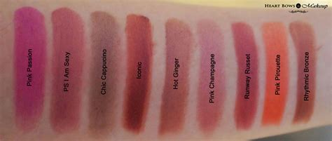 Lipstik Royal Jelly Coral Chic wear color rich lipstick swatches shades price