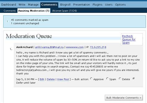 email yahoo directly justaddwater dk spam commenters are wasting brainpower