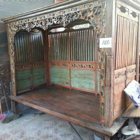 ranjang kuno madura antik furnitur di carousell