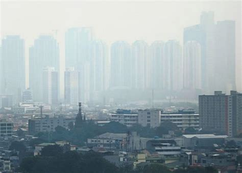 Air Jakarta jakarta third most polluted city and its air quality is