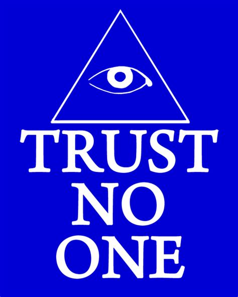 Tshirt Kaos Trust No One trust no one t shirt tshirtlegend
