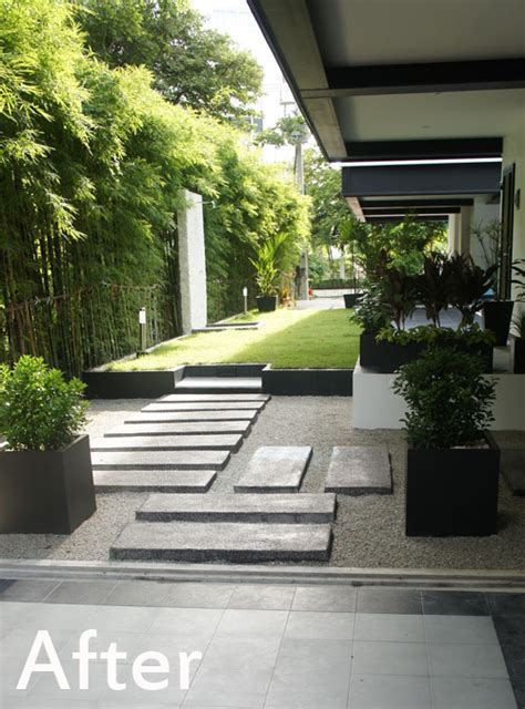 Modern Landscape for Pattaya Condo Project   Thai Garden
