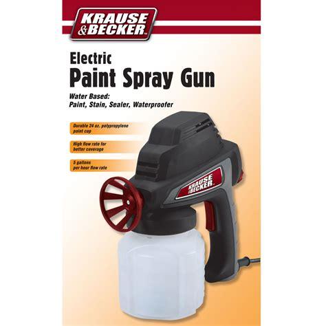 spray paint electric 5 gph electric paint spray gun