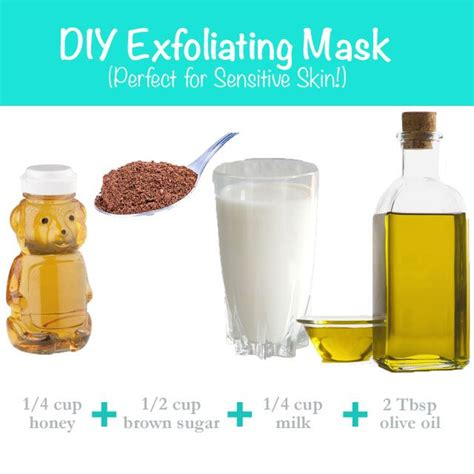 diy exfoliating mask 126 best images about diy ideas on tips cleaning and diy makeup