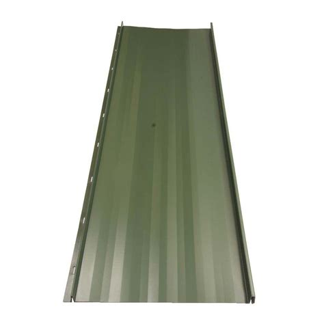 fabral residential 8 ft standing seam galvanized steel